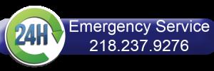 Samuelson Laney 24 hour emergency service number