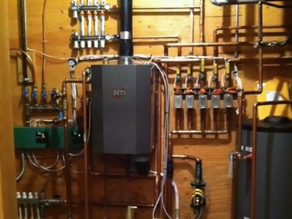 Hydronic Heat systems installed and maintained by Samuelson Laney Plumbing, Heating, and Cooling Inc.